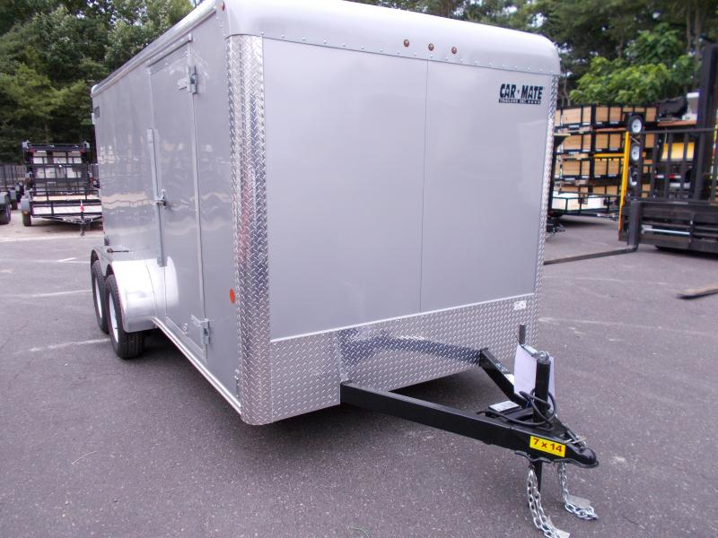 2018 Car Mate Trailers 7x14 Enclosed Cargo Trailer 2019125
