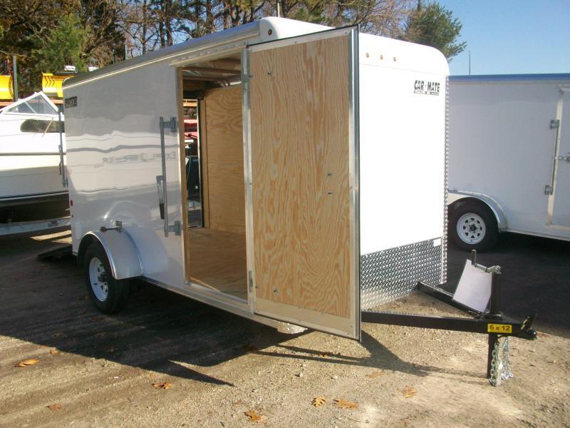 2018 Car Mate Trailers 6x12 Enclosed Cargo Trailer 2018026