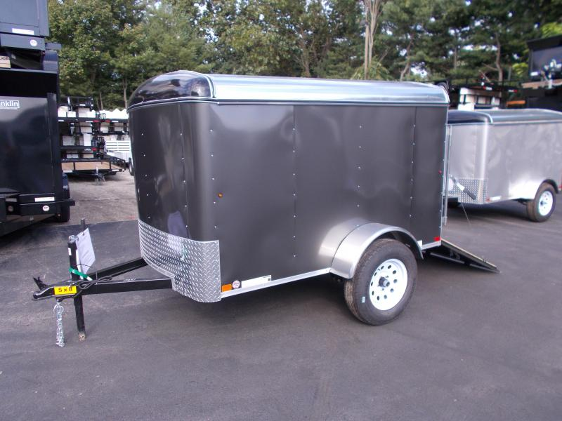 2019 Carry-On 5x8 Enclosed Cargo Trailer with Ramp Rear Door 2019547