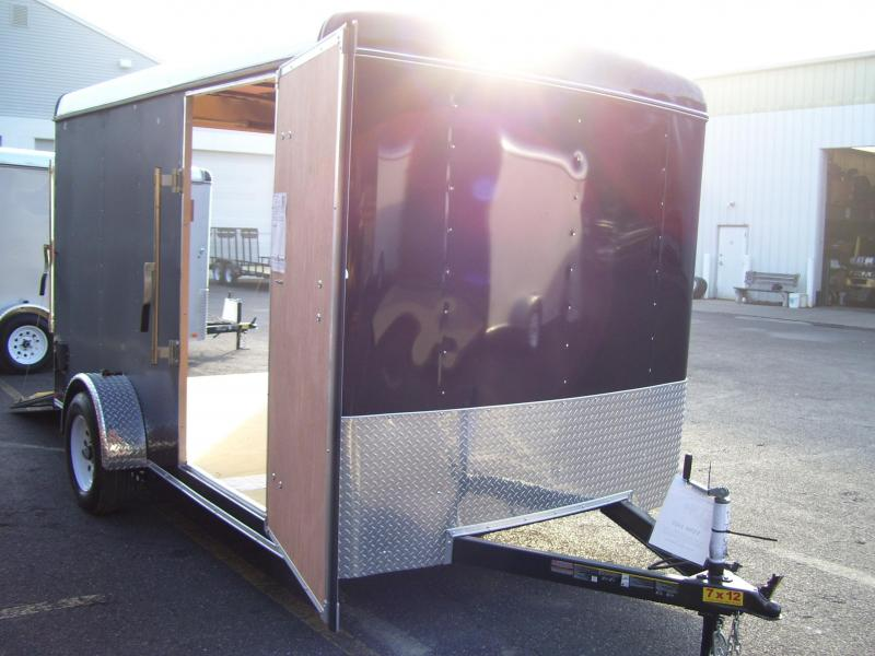 2018 Carry-On 7x12 Enclosed Cargo Trailer 2018032
