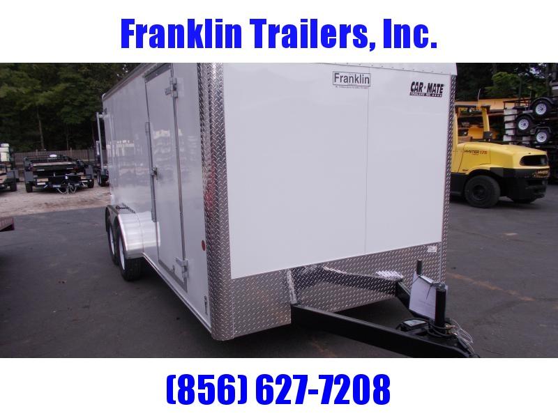 2020 Car Mate 7 X 16 - 7'W Tandem Axle Custom Cargo Trailer 2021025
