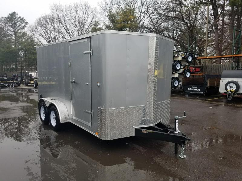 2018 Carry-On 7X14 - 7000 lbs. GVWR Bull Nose Enclosed Cargo Trailer 2018367