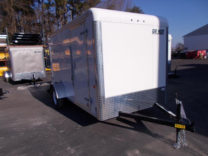2019 Car Mate Trailers 6x12 Enclosed Cargo Trailer 2019776