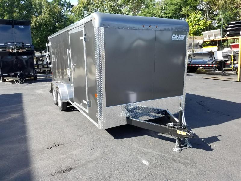 2019 Car Mate Trailers 7x16 Enclosed Cargo Trailer 2019590