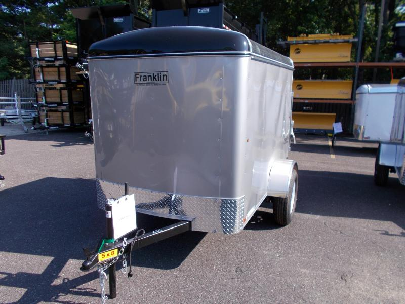2018 Carry-On 5x8 Enclosed Cargo Trailer With Ramp Door 2019155