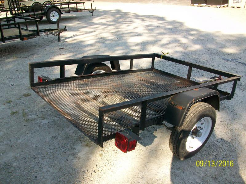 2016 Carry-On 4X6 Utility Trailer 2015247
