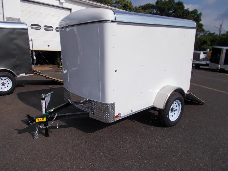 2018 Carry-On 5x8 Enclosed Cargo Trailer With Ramp Door 2019289