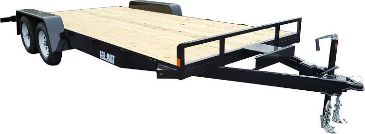 2019 Car Mate Trailers 8x18 Full Treated Plank Deck Car / Racing Trailer 2020274
