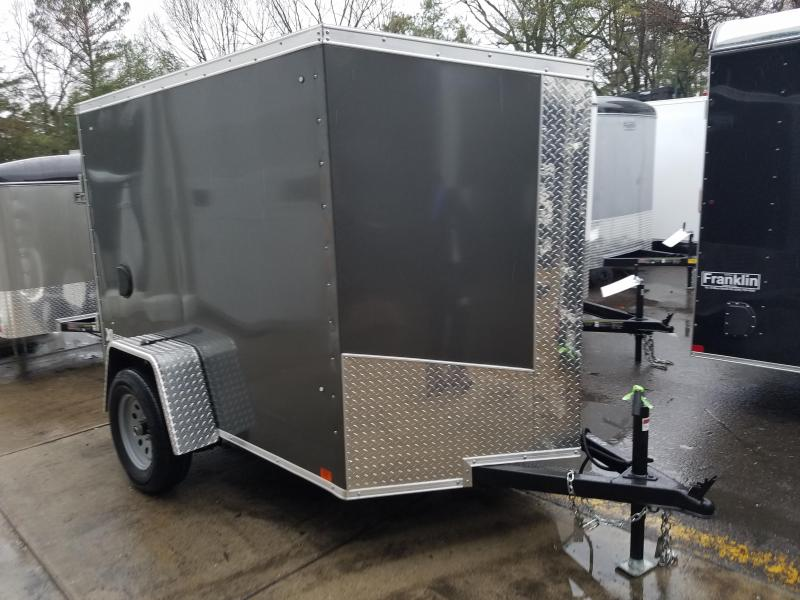 2018 Cargo Express 5x8 V-Nose Enclosed Cargo Trailer 2018246