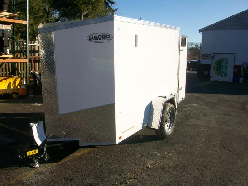 2018 Cargo Express 5x8 Enclosed Cargo Trailer 2018144
