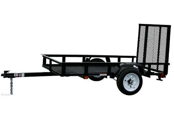 2018 Carry-On 4X6 - 2000 lbs. GVWR Mesh Floor Utility Trailer 2018036