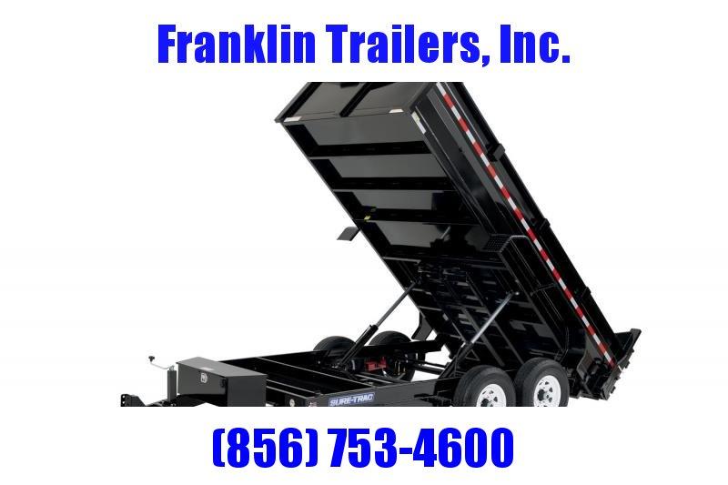 2020 Sure-Trac 82x12 12K HD Low Profile Dump (Dual Ram) Dump Trailer 2020853
