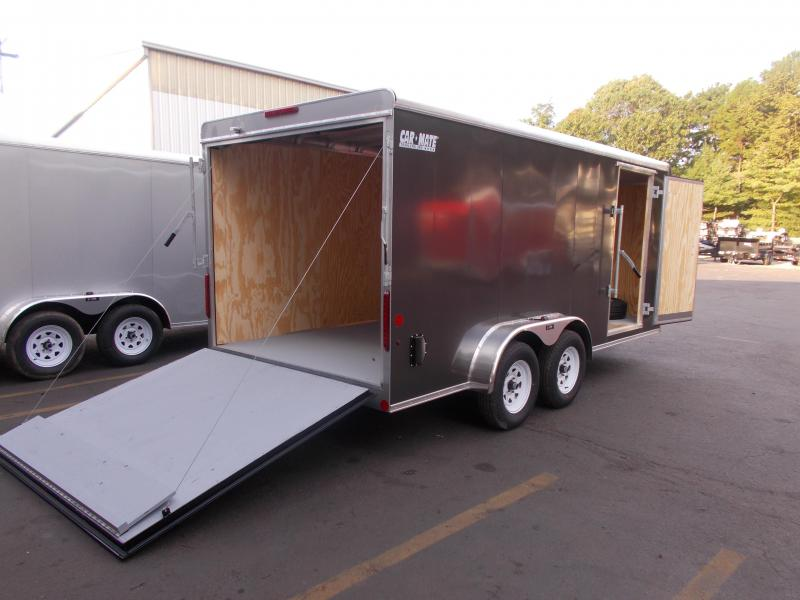 2020 Car Mate Trailer 7 X16  Enclosed Cargo Trailer 2021044