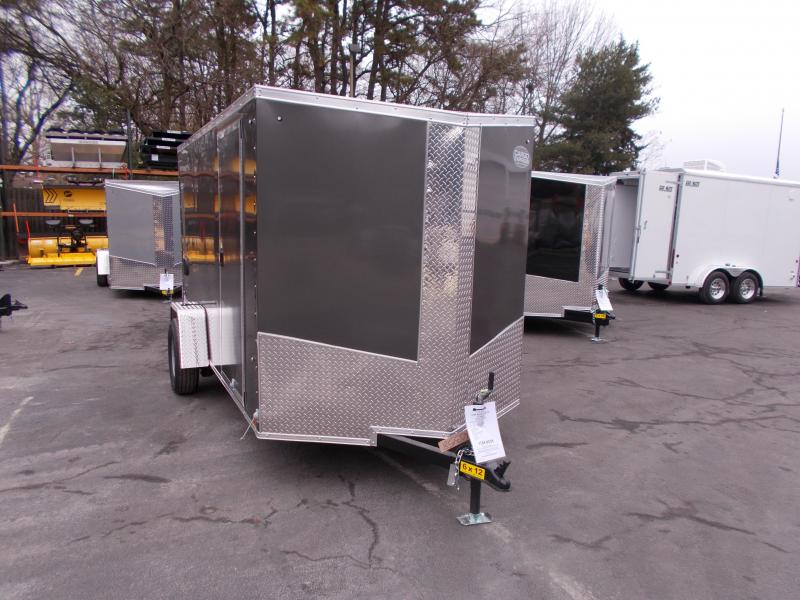 2019 Cargo Express 6X12 V-Nose Enclosed Cargo Trailer 2019769