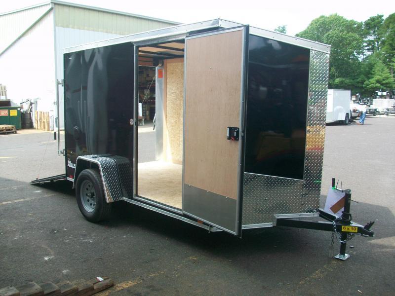 2018 Cargo Express 6x10 V-Nose Enclosed Cargo Trailer  2017562