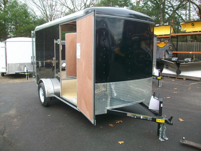 2018 Carry-On 6x12 Enclosed Cargo Trailer 2018053