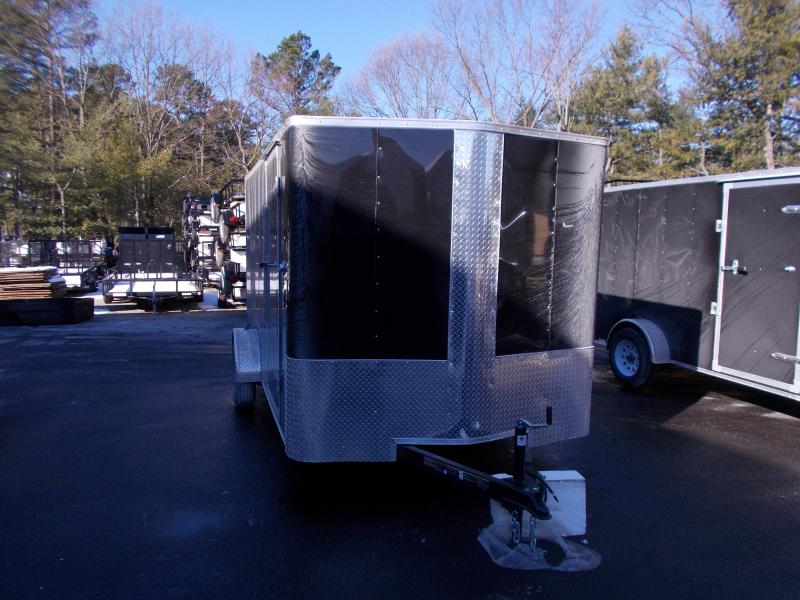 2019 Carry-On 7X14 V-Nose Enclosed Cargo Trailer 2019909