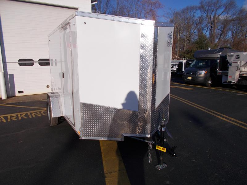 2019 Cargo Express 6X10 V-Nose Enclosed Cargo Trailer 2019845