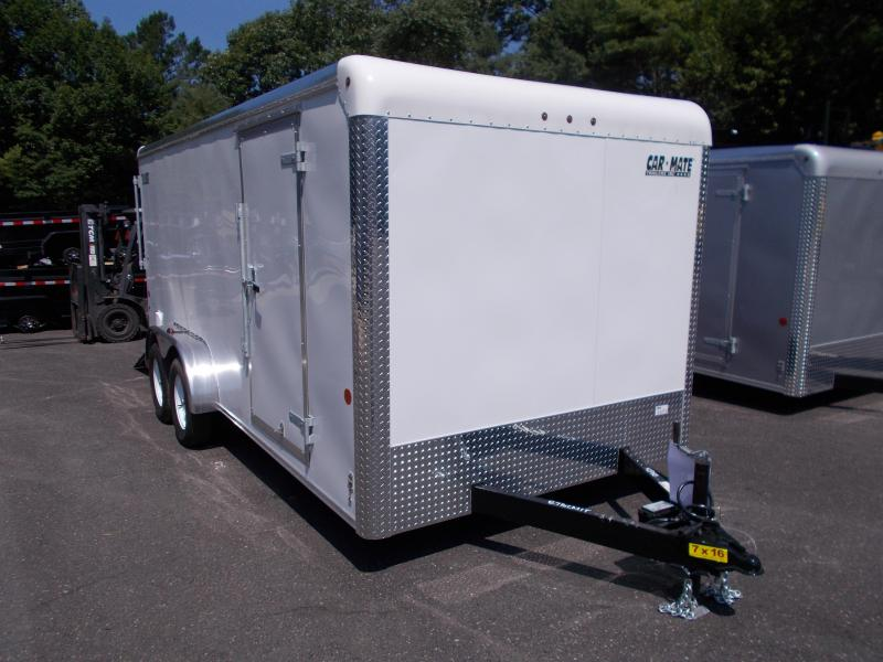 2018 Car Mate Trailers 7x16 Enclosed Cargo Trailer 2019276