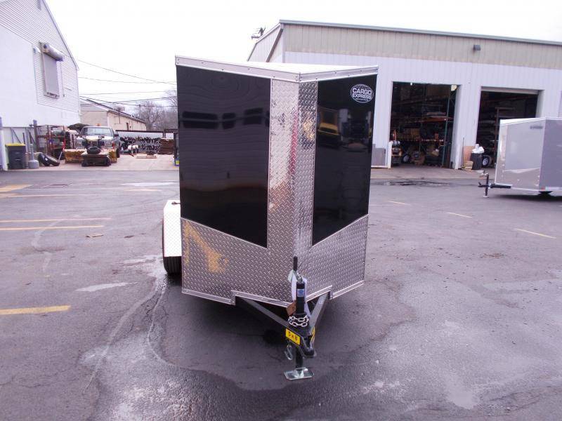 2019 Cargo Express 5X8 V-Nose Enclosed Cargo Trailer 2019805