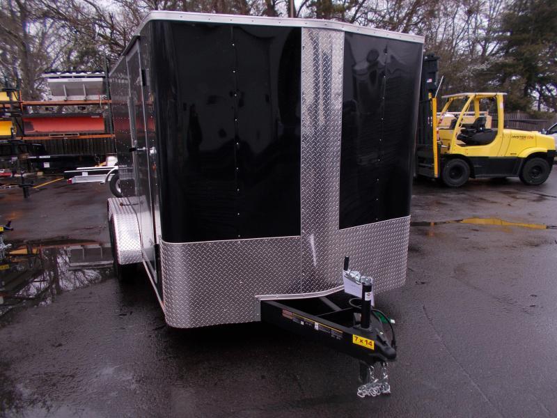 2019 Carry-On 7X14 V-Nose Enclosed Cargo Trailer 2019932