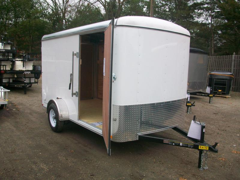 2018 Carry-On 6x12 Enclosed Cargo Trailer 2018050