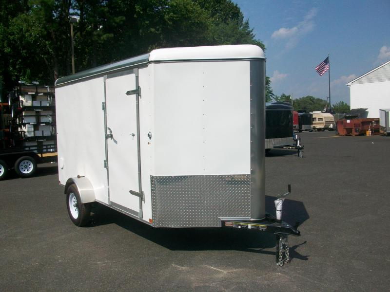 2017 Carry-On 6X12 V-Nose Enclosed Cargo Trailer 2017476
