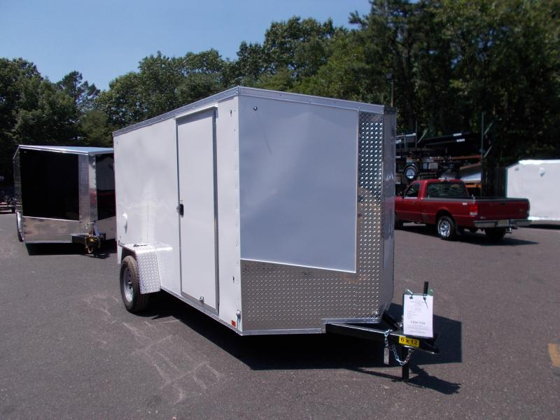 2019 Cargo Express 6x12 V-Nose Enclosed Cargo Trailer 2019162