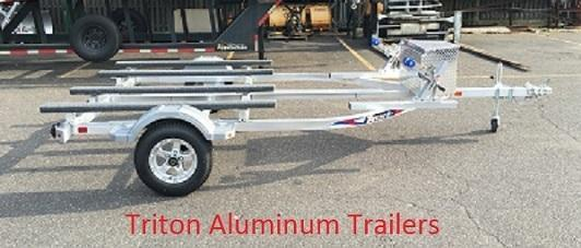 2018 Triton EWCII Aluminum Double Watercraft Trailer 2018876