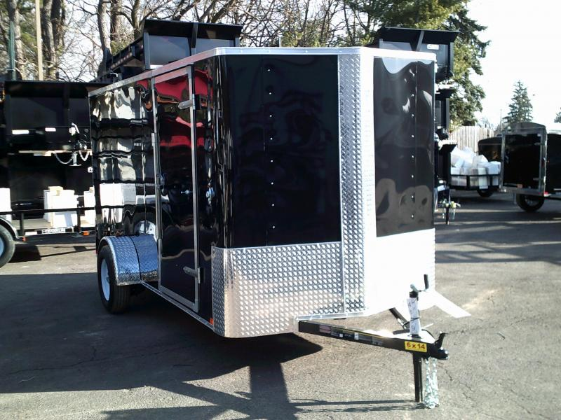 2018 Carry-On 6x14 V-Nose Enclosed Cargo Trailer 2018526