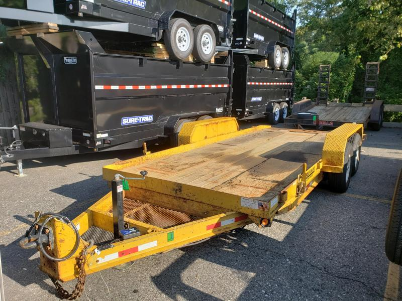 2006 Cam Superline 7x18 10K Tilt Equipment Trailer 2019319