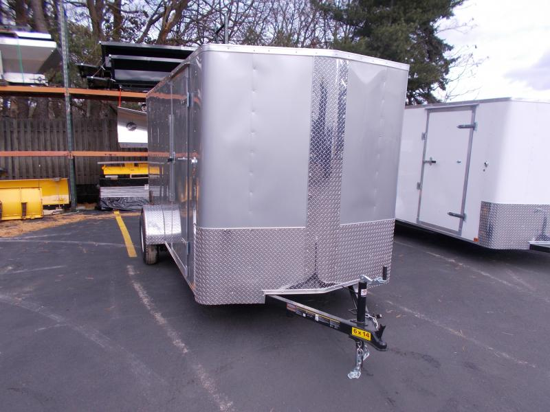 2019 Carry-On 6X14 V-Nose Enclosed Cargo Trailer 2019696