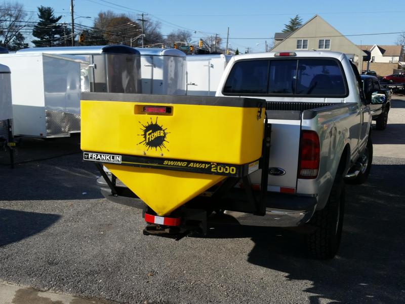 2014 Fisher Engineering 2000 Used Salt Spreader