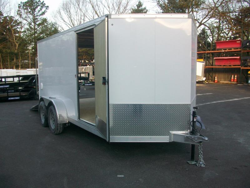 2018 Cargo Express 7x14 Aluminum Enclosed Cargo Trailer