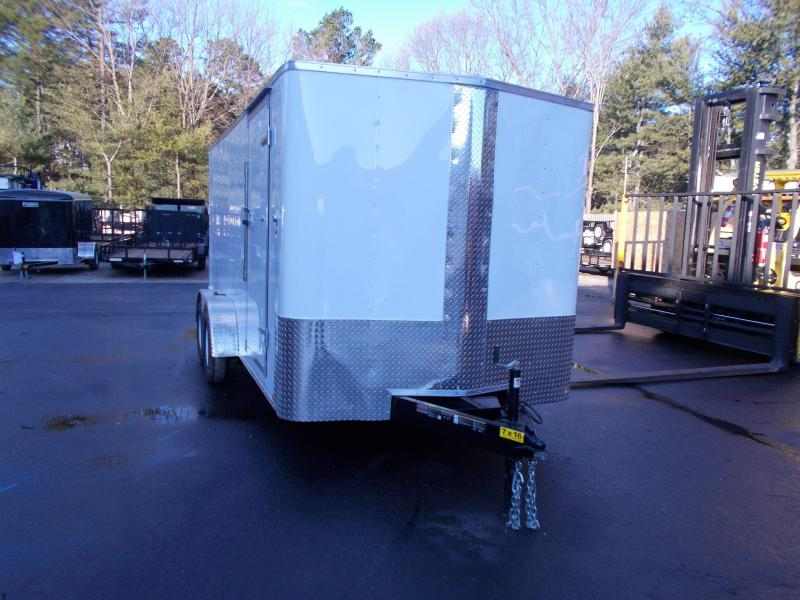 2019 Carry-On 7x16 V-Nose Enclosed Cargo Trailer 2019837