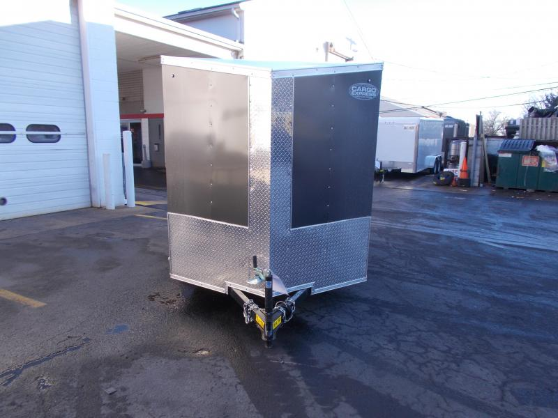 2019 Cargo Express 6x10 V-Nose Cargo / Enclosed Trailer 2020086