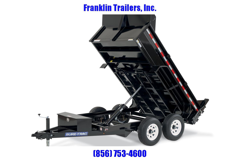 2020 Sure-Trac 72 IN x 10 LProfile 10K Single Ram Dump 2020904