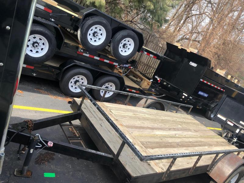 2014 Used Homemade 6x12 Utility Trailer 2020193
