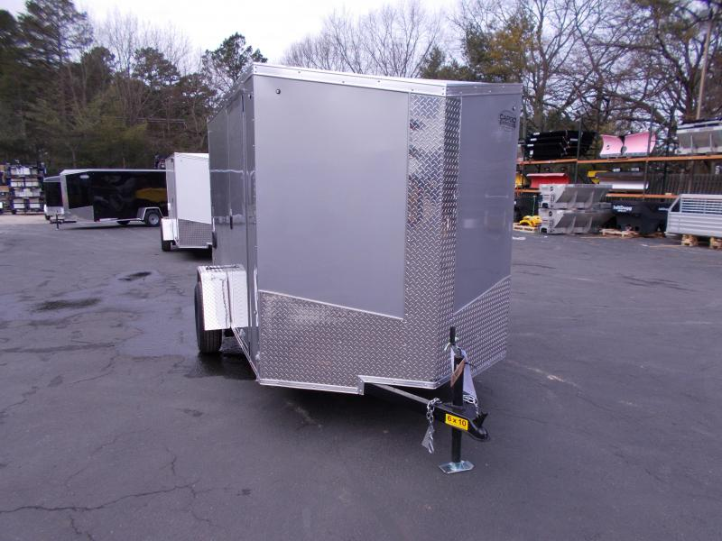 2019 Cargo Express 6X10 V-Nose Enclosed Cargo Trailer 2019806