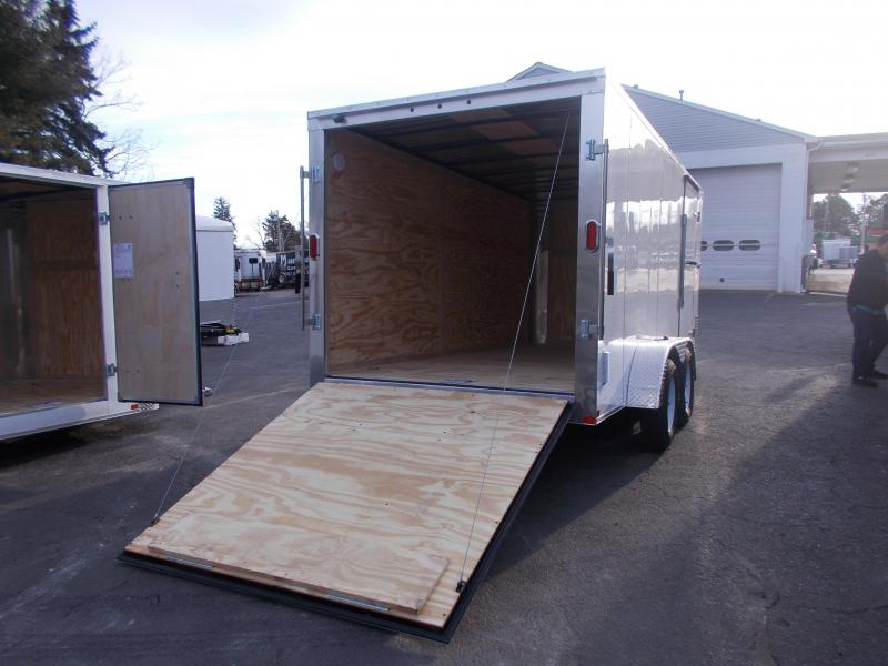 2019 Carry-On 7X16 V-Nose Enclosed Cargo Trailer 2020343