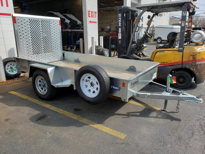 2018 Sure-Trac 5 x 10 Galvanized High Side Utility Trailer