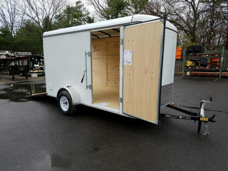 2017 Carry-On 6x12 Enclosed Cargo Trailer 2016730