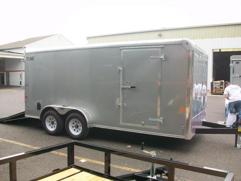 2018 Car Mate Trailers 7x16 Enclosed Cargo Trailer 2017627