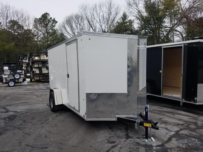 2019 Cargo Express 6X12 V-Nose Enclosed Cargo Trailer 2019927