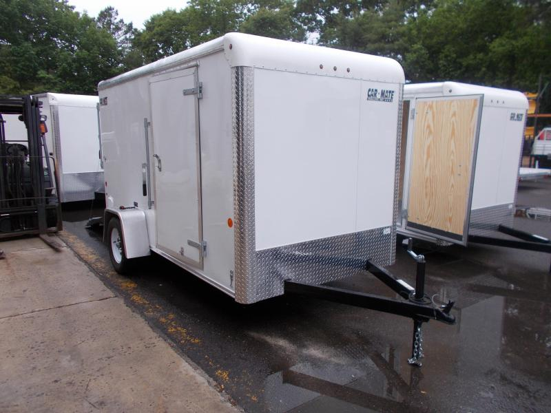 2018 Car Mate Trailers 6x12 Enclosed Cargo Trailer 2018947