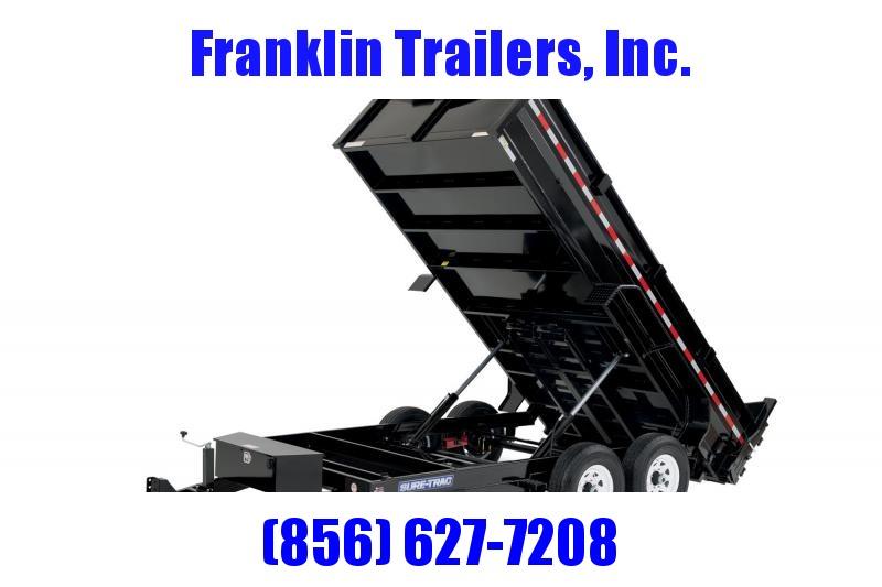 2020 Sure-Trac 82x12 12K HD Low Profile Dump (Dual Ram) Dump Trailer 2020906