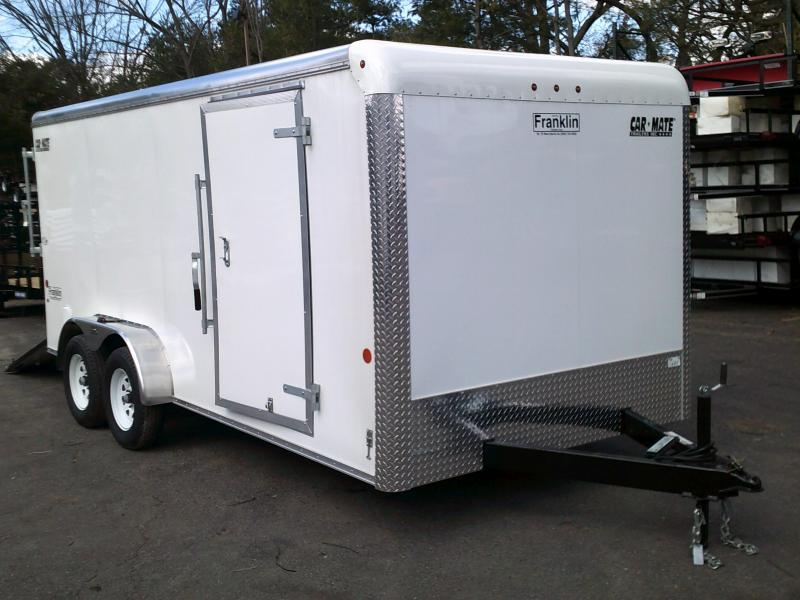 2018 Car Mate Trailers 7x16 Enclosed Cargo Trailer 2018530