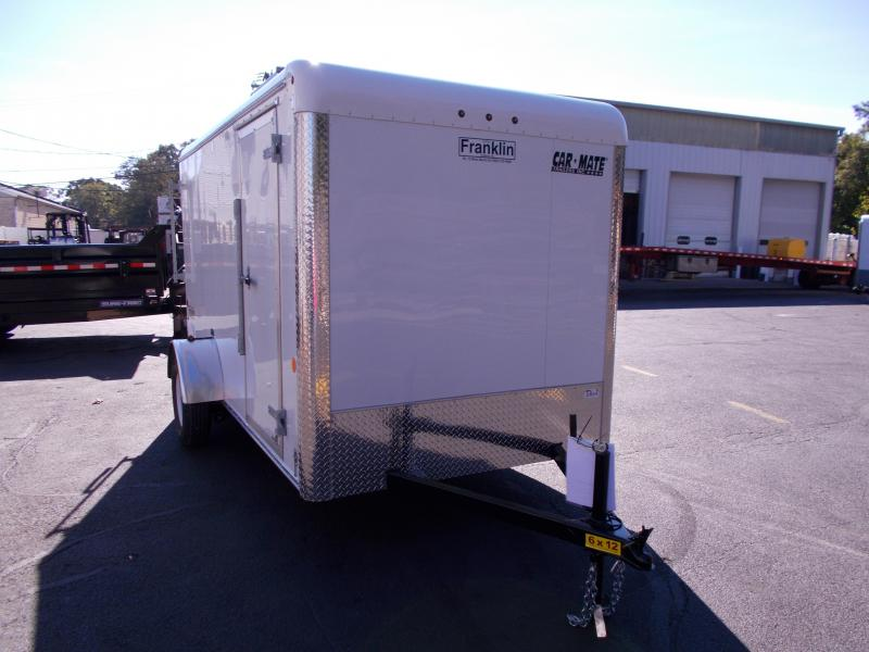 2019 Car Mate Trailers 6x12 Enclosed Cargo Trailer 2019618