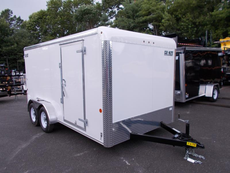 2018 Car Mate 7x14 Cargo / Enclosed Trailer 2019268