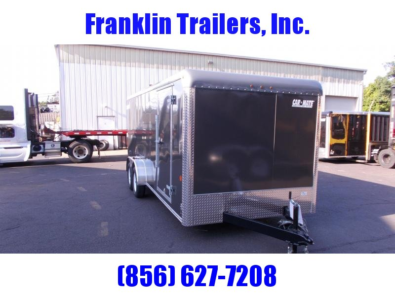 2019 Car Mate Trailers 7x18 - 7'W Tandem Axle Enclosed Cargo Trailer 2020931